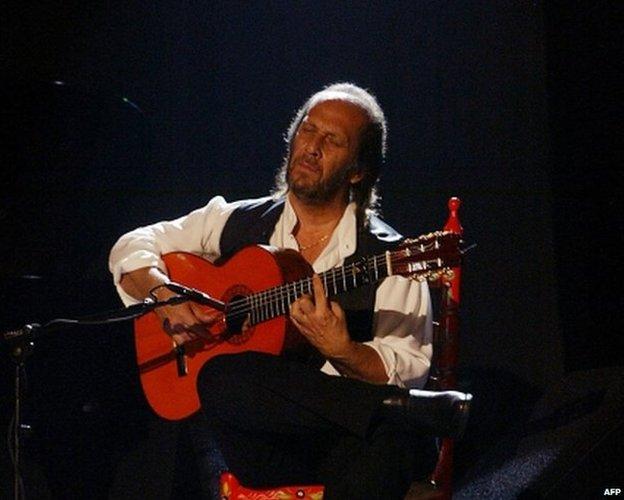 パコ デ ルシア の写真