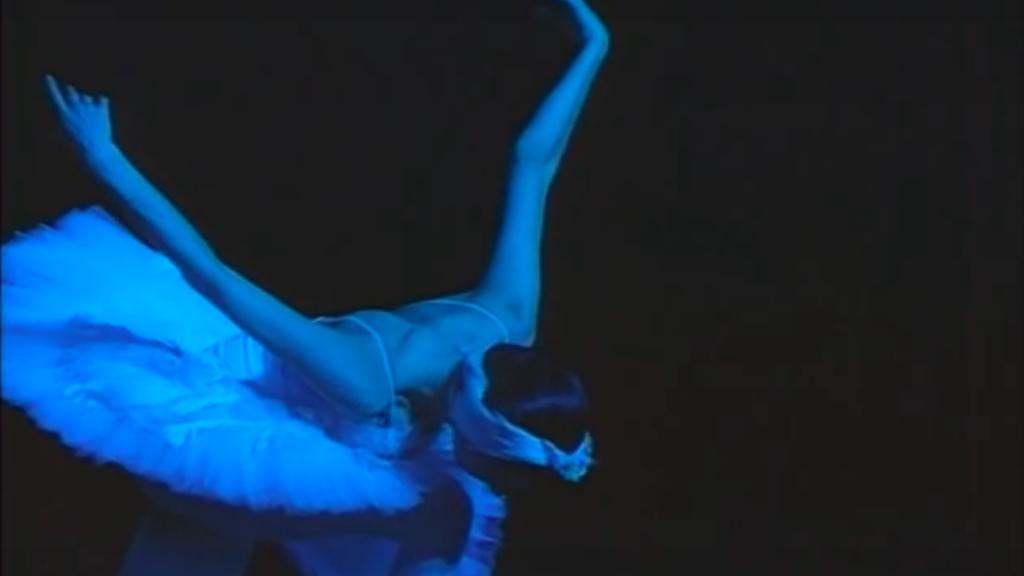 ニーナ アナニアシヴィリ 「瀕死の白鳥」の画像