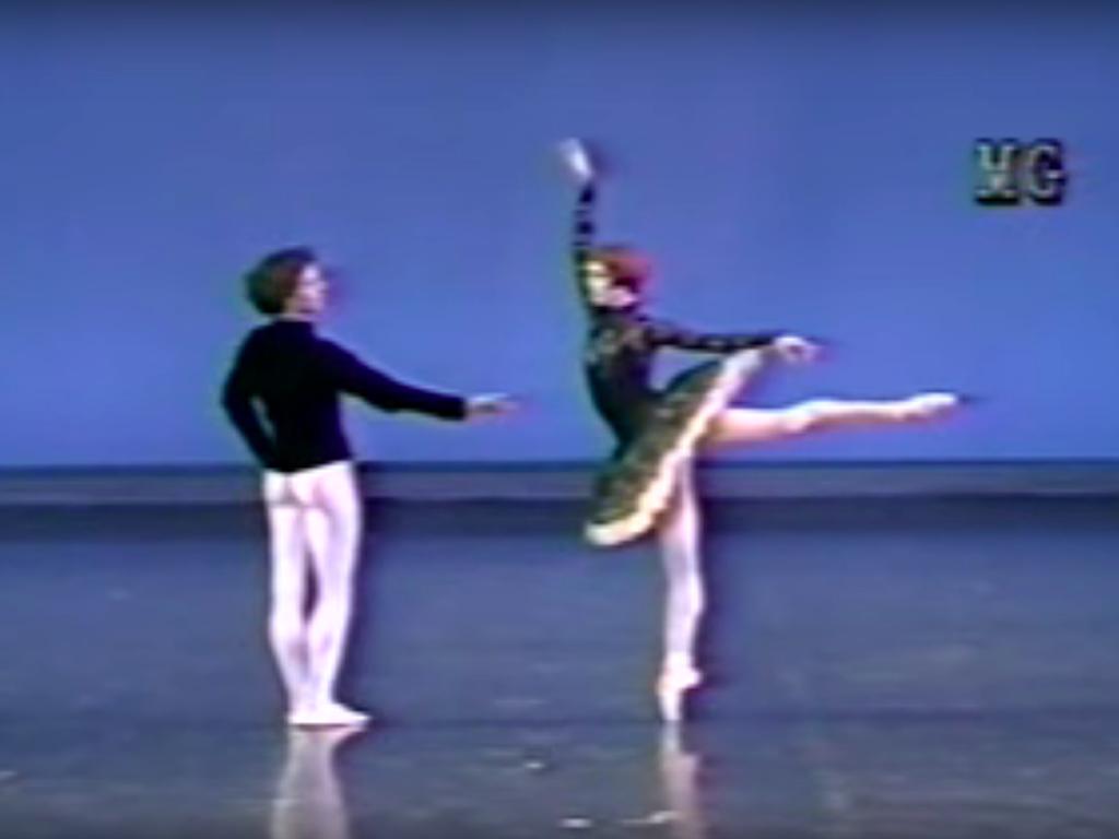 シルヴィ ギエム と ローラン イレール の「グラン パ クラシック」の画像