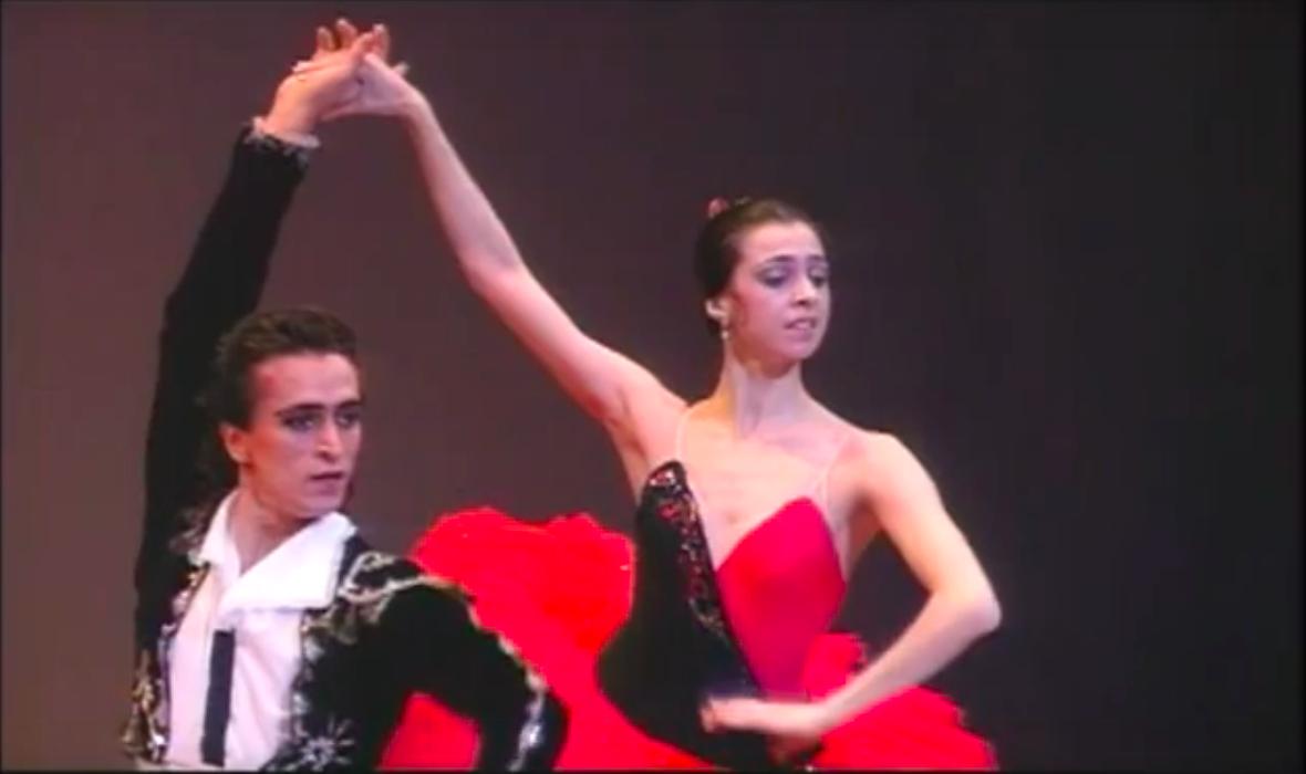 ファルフ ルジマトフとニーナ アナニアシヴィリ「ドン キホーテ」の画像